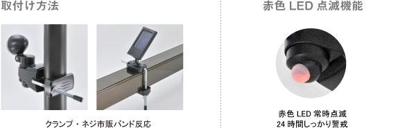 ハイブリッドセンサーライト | S-HB10 取付方法