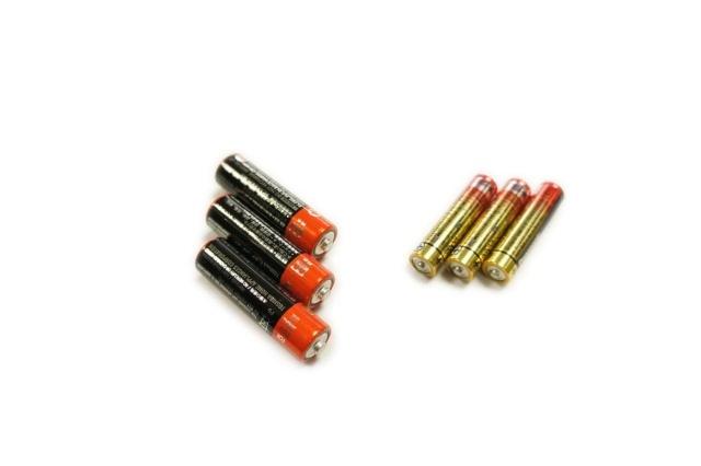 ワイヤレス人感チャイムセットX850 乾電池写真